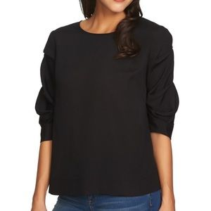 1. State | Ruched Sleeve Blouse